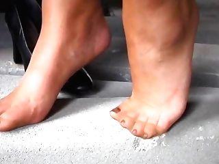 Horny Hard Foot Fuck In Soft Nylons