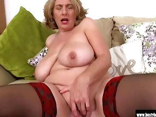 Brit Matures Camilla Plays With Phat Tits And Raw Cunt