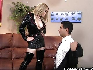 Horny Adult Movie Stars Aiden Starr, Johnny Chorizo In Exotic...