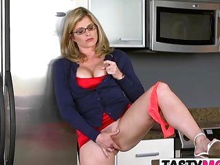 Stepmom Takes Care Of Kinky Needs