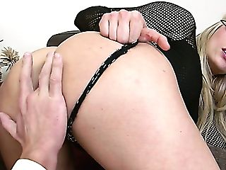 Blinded Mummy Brittany Bardot Fucked Cruelly In A Rear End Position