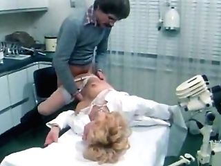 Four Eyed Decadent Medic Slurps Haired Vag Of Dumpy Blonde Tramp