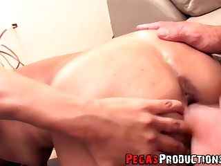 Revved On Lengthy Legged Black Head Ynna Is Fucked In Standing Pose...