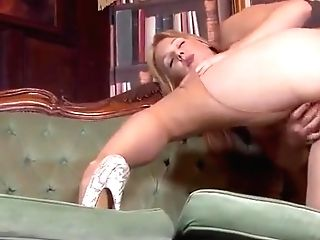 Blonde Mom In Pantyhose