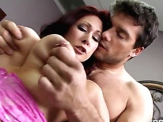 Tiffany Mynx Is Entertaining Ramon With Her Perky Tits And Bj